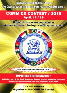 CQMM DX Contest 2015 Edition